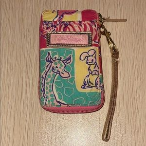 Lilly Pulitzer soft ID wallet, card slots & handle